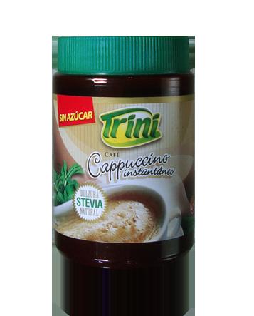 Delicioso polvo para preparar un rico café Cappuccino de forma sencilla y con un delicioso sabor y sin TACC.