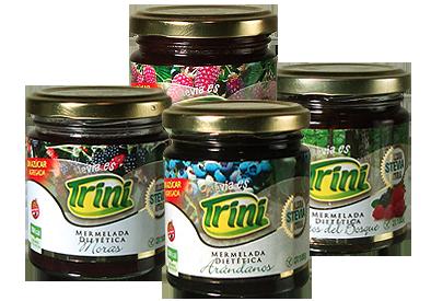 Pura fruta! frutos del bosque, arándanos, moras y frambuesas de gran calidad son cuidadosamente seleccionadas para lograr productos sabrosos y saludables. Libres de gluten y sin azúcar.