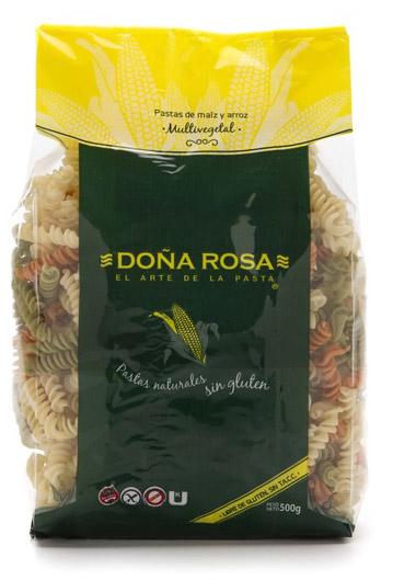 Fideos artesanales de Maíz y Arroz. Deliciosos y con toda la calidad y tradición de los fideos Doña Rosa.