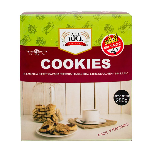 Lucite horneando unas exquisitas galletitas y cookies caseras sin TACC. Premezcla base ideal para hacer elaborar  y desarrollar tu creatividad en la cocina agregando tus ingredientes favoritos. Chips, cascaritas, glasé o lo que más te guste. Cerificado Kosher, sin TACC, libre de gluten.