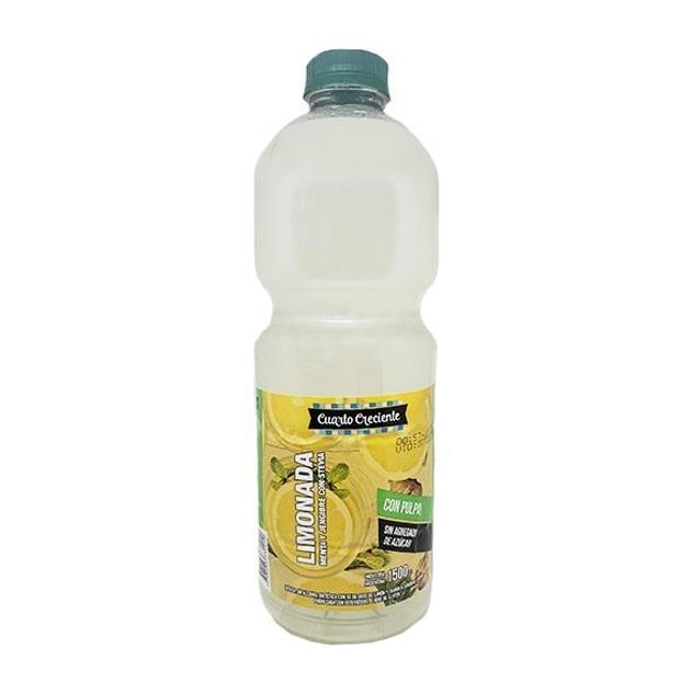 Deliciosa y refrescante limonada, con un toque de menta y jengibre. Endulzada con stevia. Libre de gluten. Sin TACC.