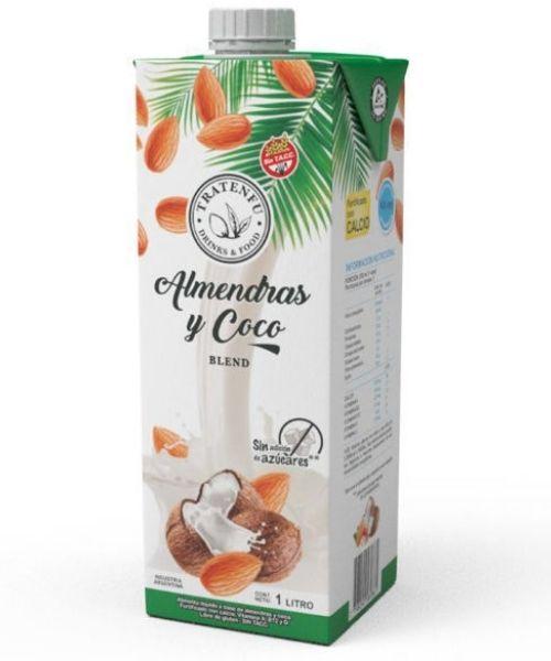 Las leches Tratenfú de Almendras + Coco te va a encantar. Es una rica y nutritiva alternativa para el reemplazo de leche de vaca para usar en el café y en cualquier momento del día. Naturalemente sin lactosa. Libres de gluten. Sin TACC.