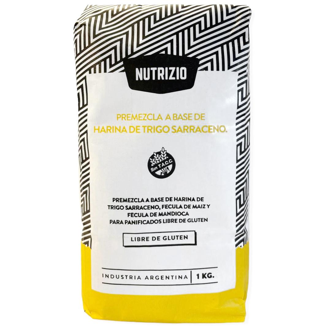 Nutrizio es la nueva premezcla a base de trigo sarraceno, libre de gluten, sin lactosa, veganas, aptas APLV.